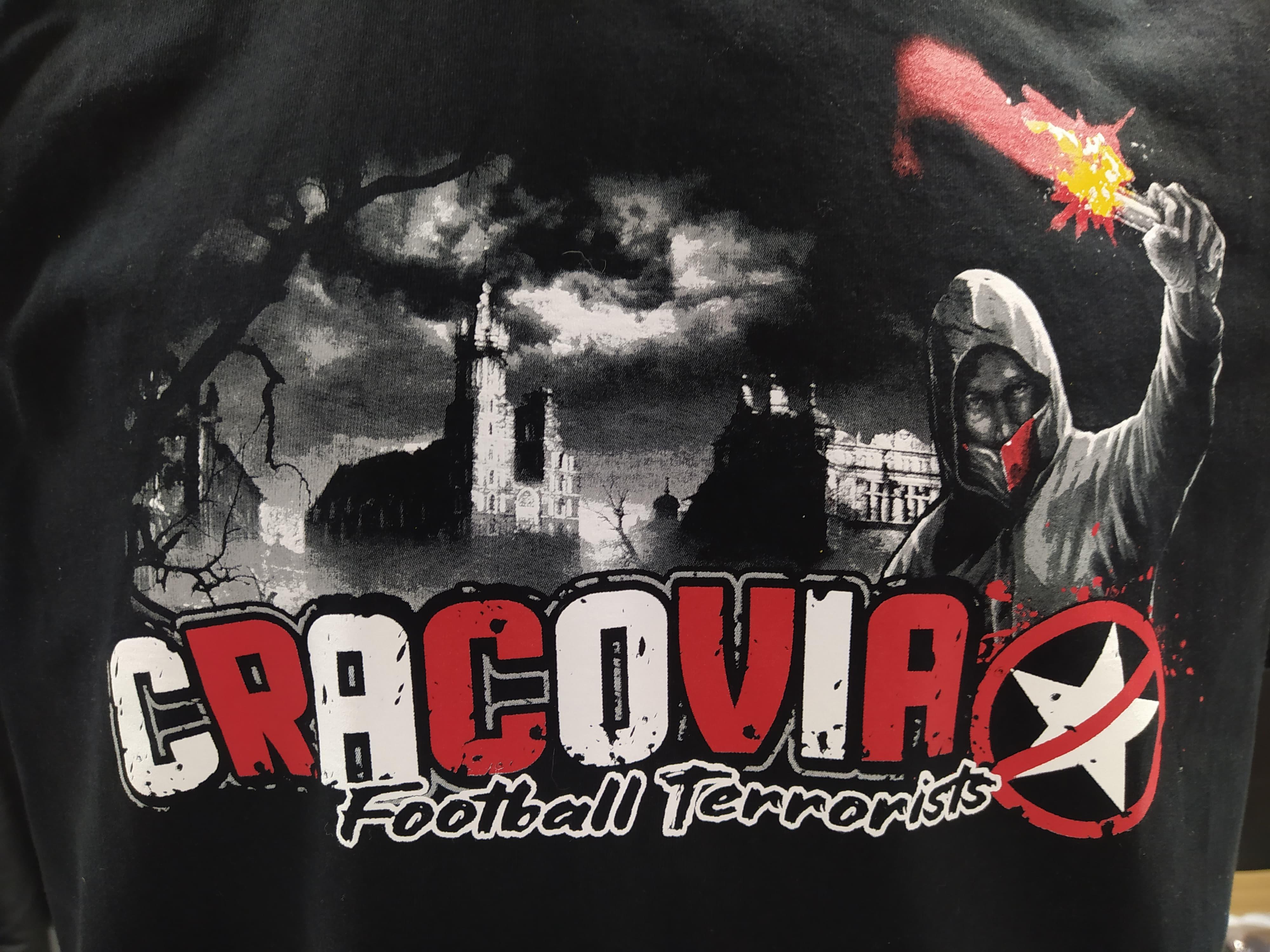 Koszulka FOOTBALL TERRORISTS