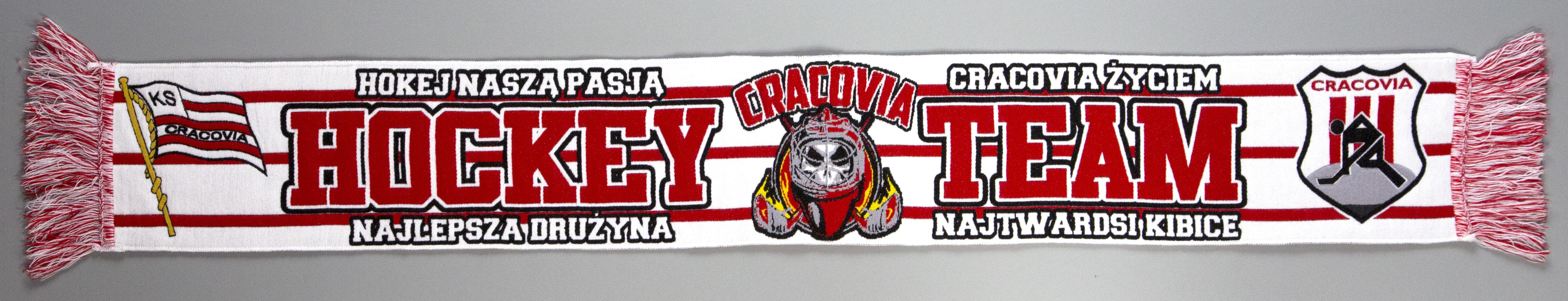 """Szal """"CRACOVIA HOCKEY TEAM"""""""