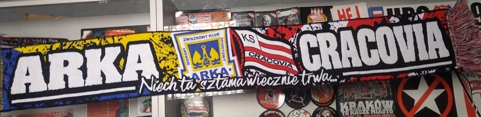 Szal Cracovia&Arka  NIECH TA SZTAMA WIECZNIE TRWA