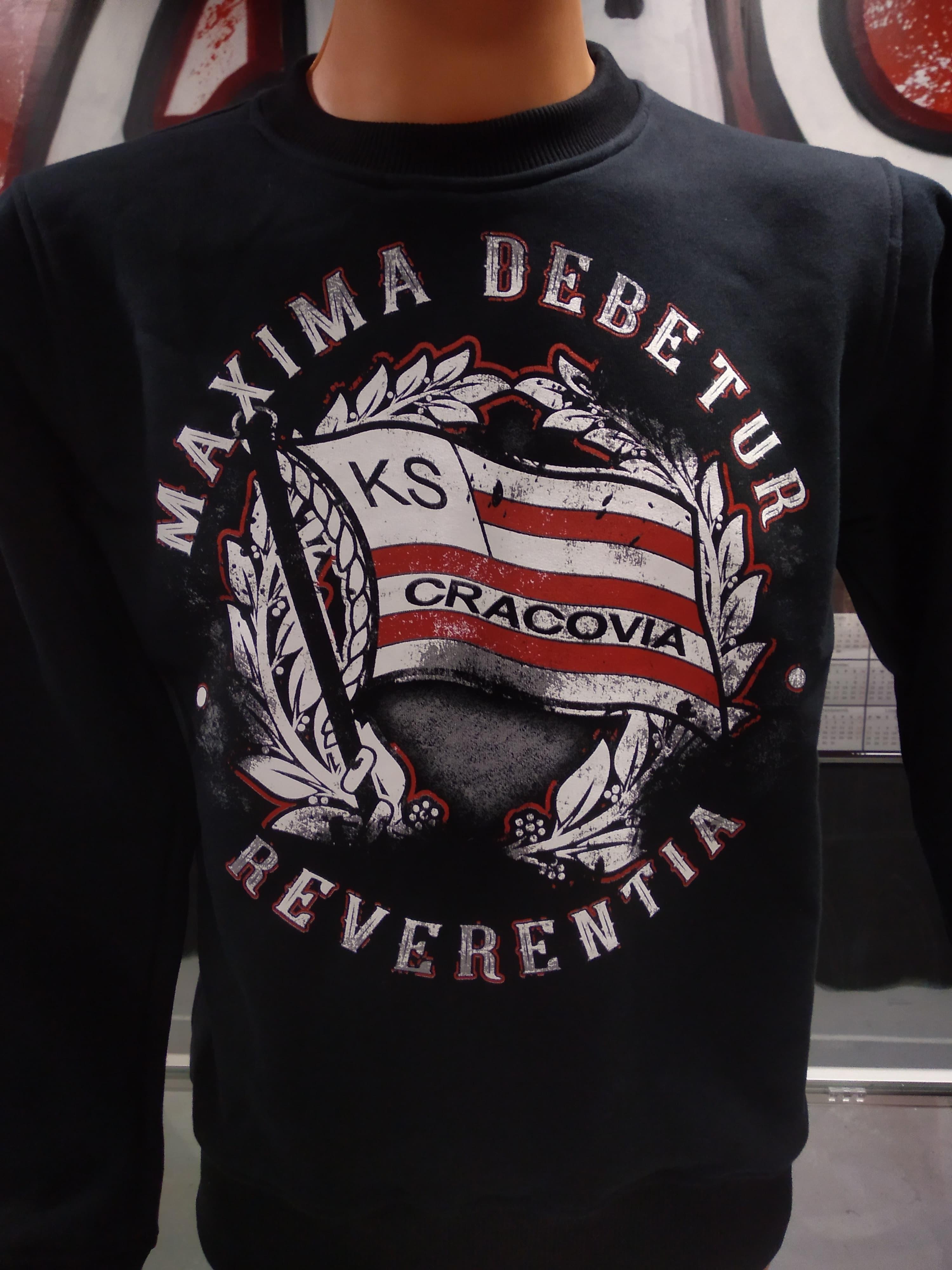 Bluza MAXIMA DEBETUR REVERENTIA bez kaptura